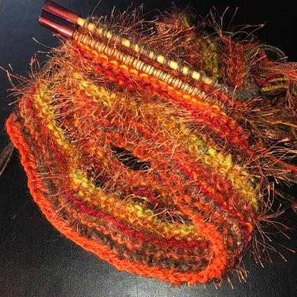 w20 knit scarf 2879