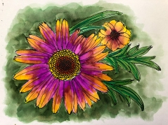W20 10 5 NOST INK FLOWER-4309