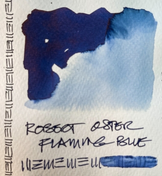 W21 4 INK RO FLAMING BLUE-8683