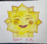 Sun saltshaker.