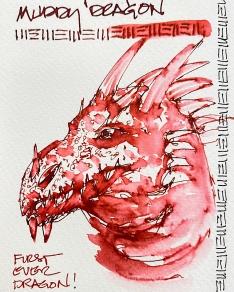 W20 INK ROBERT OSTER MUDDY DRAGON-2373